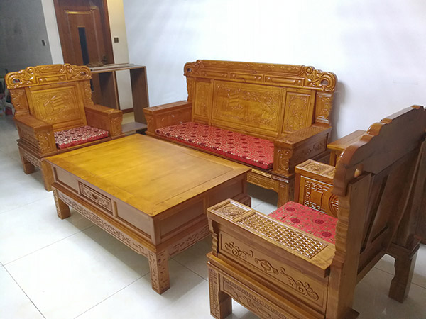 非洲花梨财源沙发  红木沙发