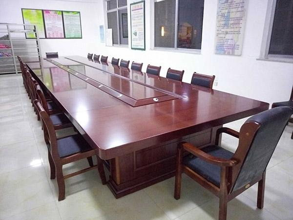 4.8米木皮会议桌