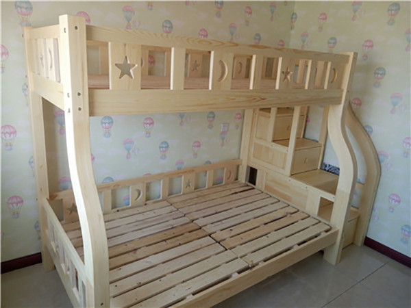 步梯星月子母床 高低床