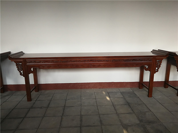 2.4米水曲柳供桌  财神桌