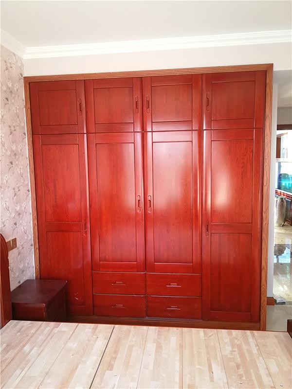 1.8米缅甸花梨衣柜 红木衣柜