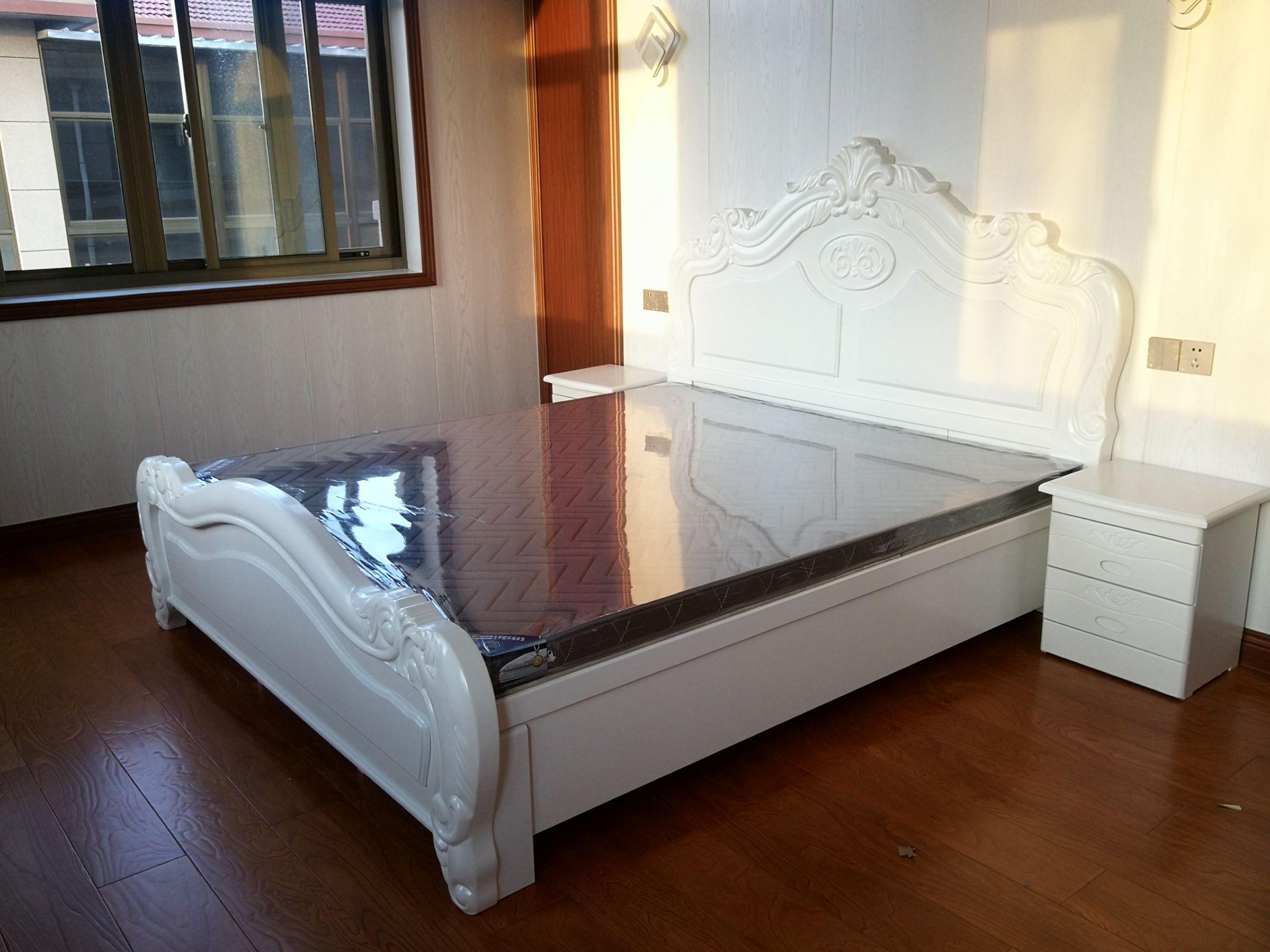 1.8米橡木床 欧式实木床