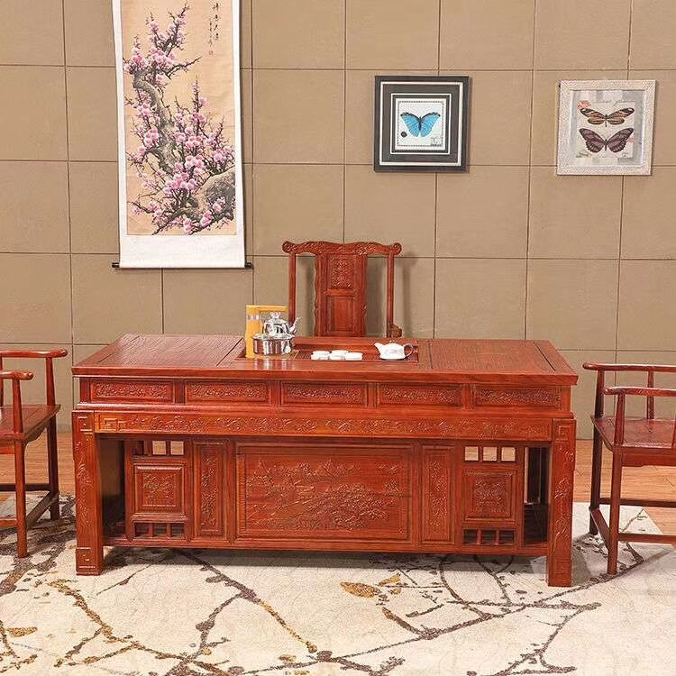 1.8米办公桌茶台