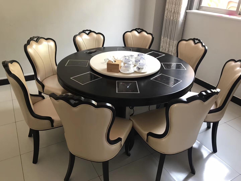 1.8米火锅圆桌 酒店圆桌