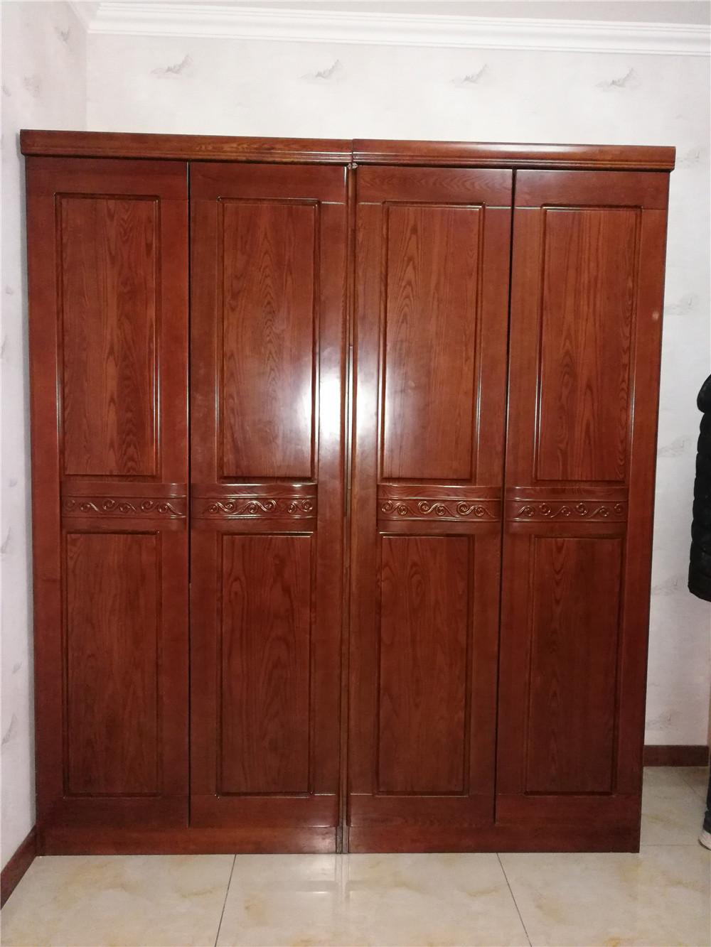 1.8米水曲柳衣柜 实木衣柜