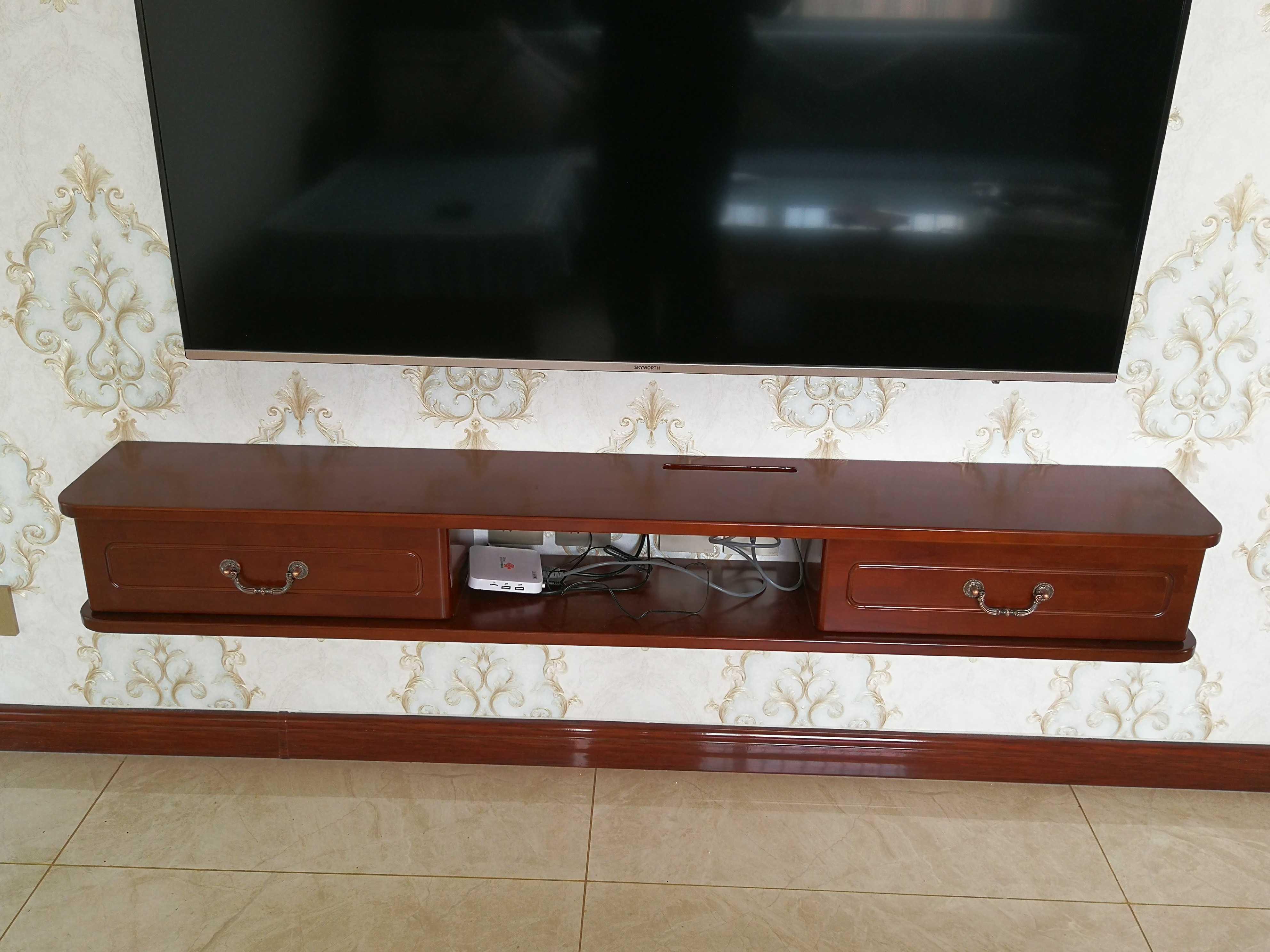 1.8米电视柜 网红款吊柜