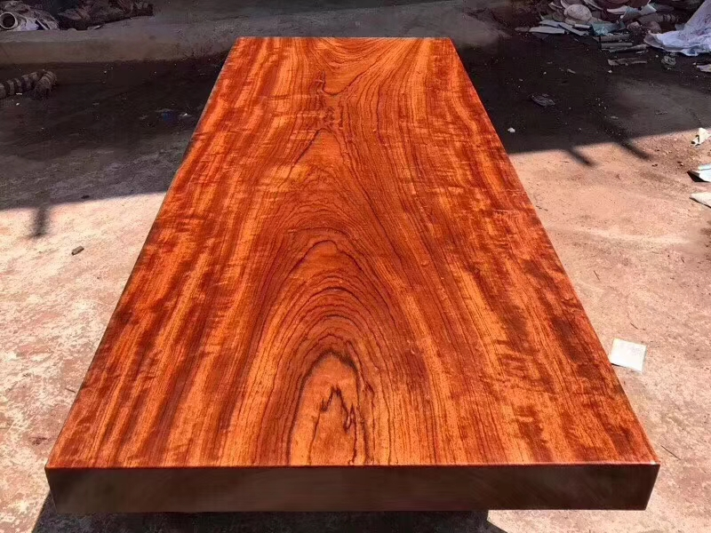 小极品巴西花梨大板 烟台莱阳红木大板