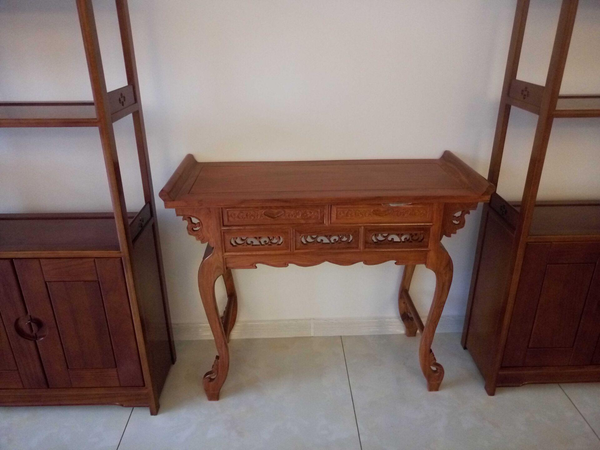 实木红木刺猬紫檀花梨木 供桌 佛台 供台