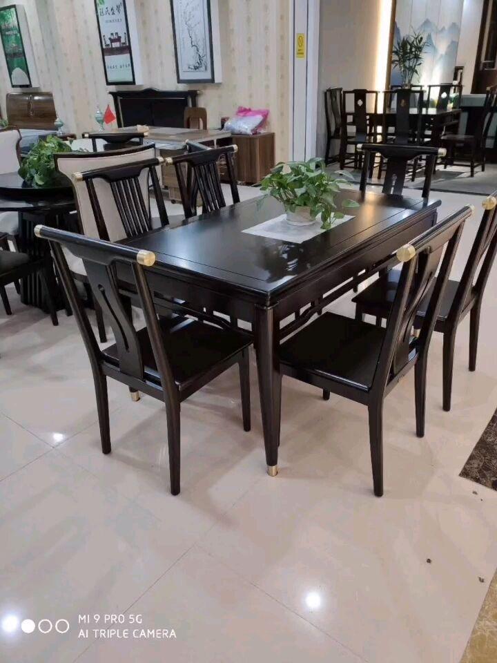 烟台莱阳新中式餐桌